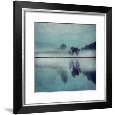 Misty Mirror-Dirk Wuestenhagen-Framed Art Print
