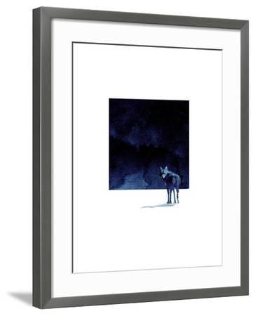 I'm Going Back-Robert Farkas-Framed Art Print