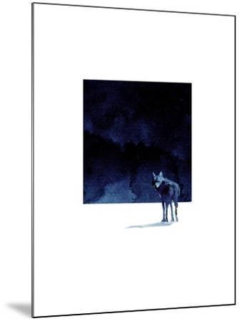 I'm Going Back-Robert Farkas-Mounted Art Print