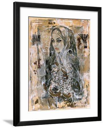 Dubai Beauty No. 1-Marta Wiley-Framed Art Print