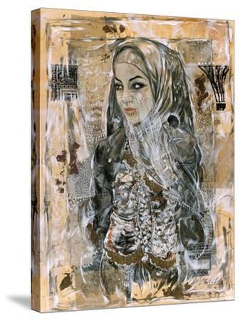 Dubai Beauty No. 1-Marta Wiley-Stretched Canvas Print
