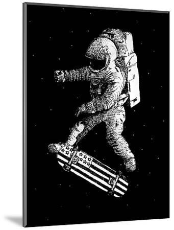 Kickflip in Space-Robert Farkas-Mounted Premium Giclee Print