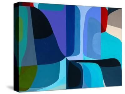 Merging Waters-Marion Griese-Stretched Canvas Print