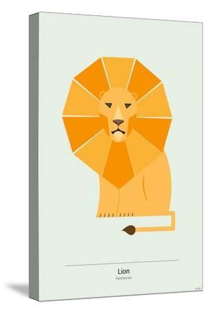 Lion-Tomas Design-Stretched Canvas Print