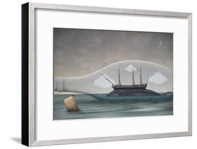 Voyage in a Bottle-Greg Noblin-Framed Premium Giclee Print