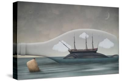 Voyage in a Bottle-Greg Noblin-Stretched Canvas Print