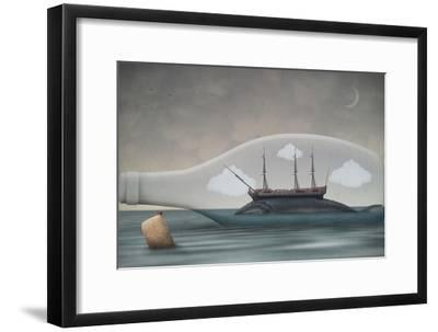 Voyage in a Bottle-Greg Noblin-Framed Art Print