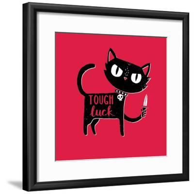 Tough Luck-Michael Buxton-Framed Art Print