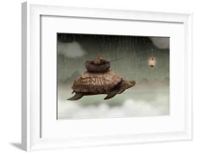 Guided By Light-Greg Noblin-Framed Art Print
