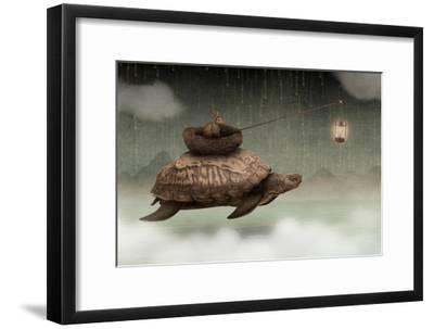 Guided By Light-Greg Noblin-Framed Premium Giclee Print