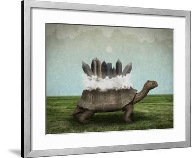 Moving Forward-Greg Noblin-Framed Art Print