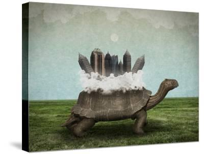 Moving Forward-Greg Noblin-Stretched Canvas Print
