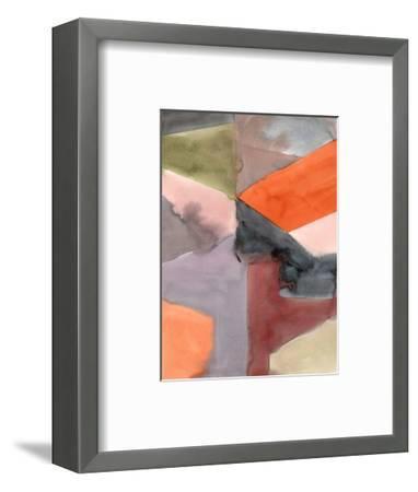 Geometric Abstract-Kelly Witmer-Framed Art Print