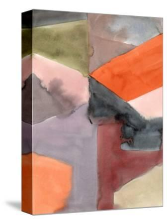 Geometric Abstract-Kelly Witmer-Stretched Canvas Print