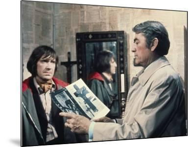 La Malediction THE OMEN by Richard Donner with David warner and Gregory Peck, 1976 (photo)--Mounted Photo