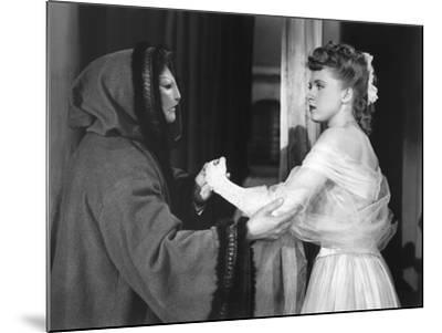 Le Fantome by l'Opera THE PHANTOM OF THE OPERA by Arthur Lubin with Claude Rains and Susanna Foster--Mounted Photo
