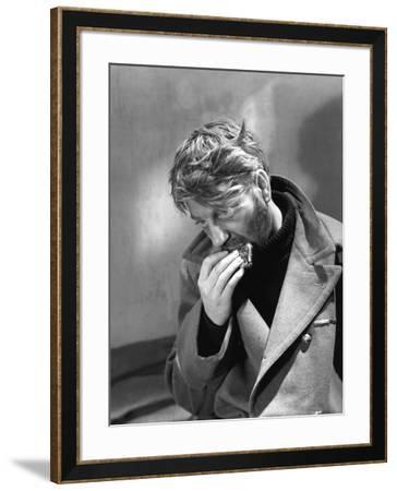 La grande Illusion by JeanRenoir with Jean Gab 1937 (b/w photo)--Framed Photo