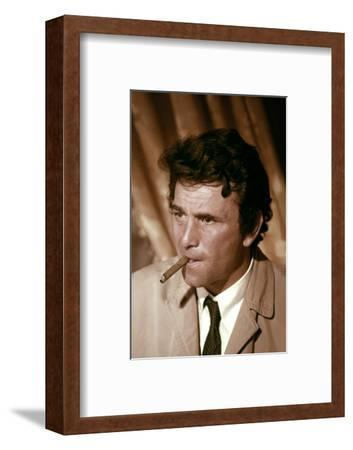 Serie televisee Columbo with Peter Falk (inspecteur Columbo), 1971-2003 (photo)--Framed Photo