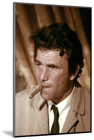 Serie televisee Columbo with Peter Falk (inspecteur Columbo), 1971-2003 (photo)--Mounted Photo