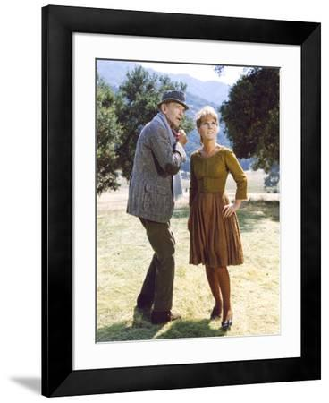 FINIAN'S RAINBOW, 1968 directed by FRANCIS FORD COPPOLA Fred Astaire and  Petula Clark (photo) Photo by | Art com
