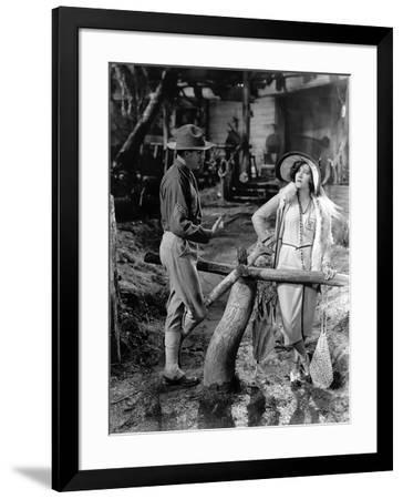 Miss Sadie Thompson by Raoul Walsh with Gloria Swanson, 1928, 1928 Photo by  | Art com