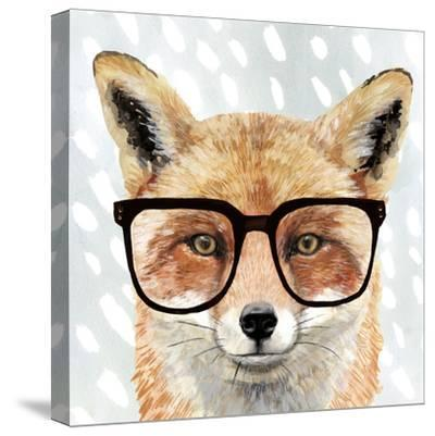 Four-eyed Forester I-Victoria Borges-Stretched Canvas Print