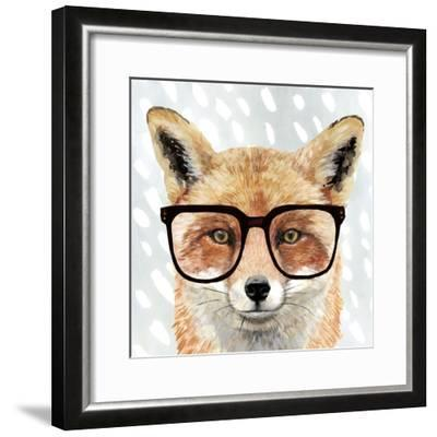 Four-eyed Forester I-Victoria Borges-Framed Premium Giclee Print