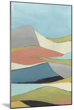 Geoscape I-June Vess-Mounted Premium Giclee Print