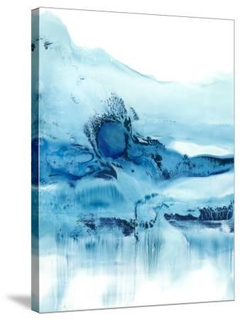 Blue Currents II-Ethan Harper-Stretched Canvas Print