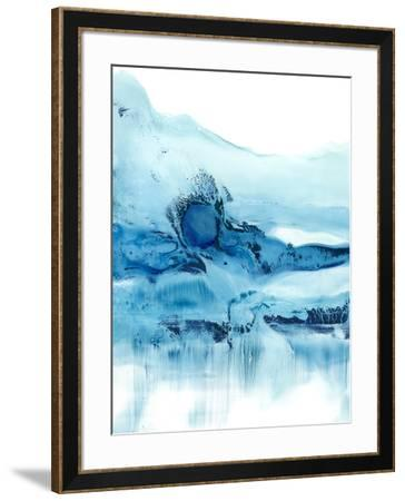 Blue Currents II-Ethan Harper-Framed Art Print