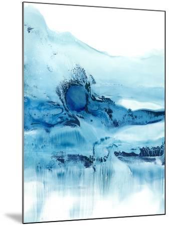 Blue Currents II-Ethan Harper-Mounted Art Print