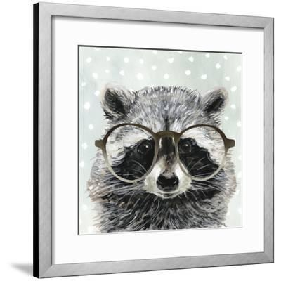 Four-eyed Forester IV-Victoria Borges-Framed Art Print