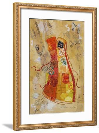 Dress Whimsy II-Elizabeth St. Hilaire-Framed Art Print