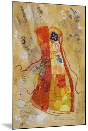 Dress Whimsy II-Elizabeth St. Hilaire-Mounted Art Print