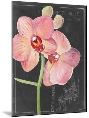 Chalkboard Flower I-Jennifer Parker-Mounted Art Print
