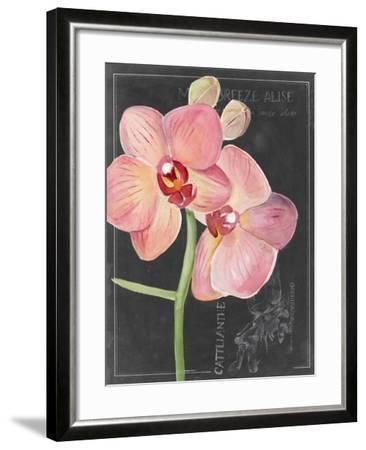 Chalkboard Flower I-Jennifer Parker-Framed Art Print