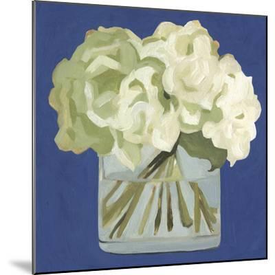 White Hydrangeas II-Emma Scarvey-Mounted Premium Giclee Print