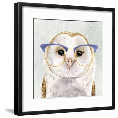 Four-eyed Forester II-Victoria Borges-Framed Premium Giclee Print
