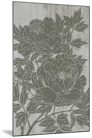 Blooming Peony I-Melissa Wang-Mounted Art Print