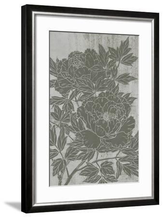 Blooming Peony I-Melissa Wang-Framed Art Print
