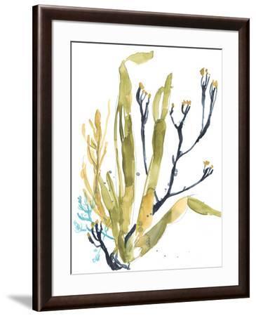 Reef Illusion II-Jennifer Goldberger-Framed Art Print