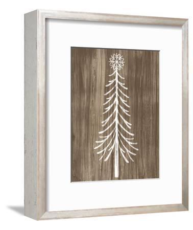 Barnwood Wonderland VII-June Vess-Framed Premium Giclee Print