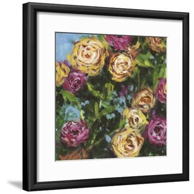 Roses in Sunlight II-Melissa Wang-Framed Art Print