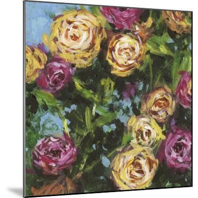 Roses in Sunlight II-Melissa Wang-Mounted Art Print