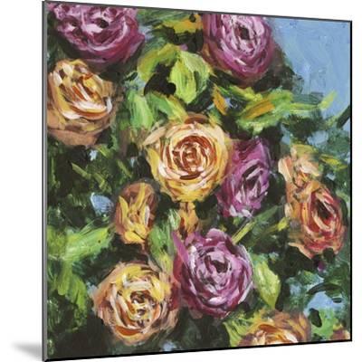 Roses in Sunlight I-Melissa Wang-Mounted Art Print