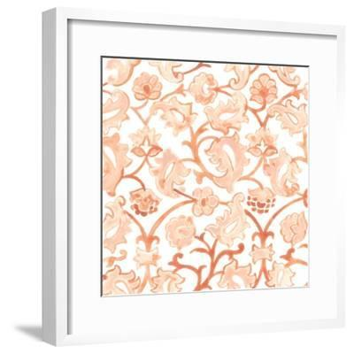 Bohemian Textile III-June Vess-Framed Art Print