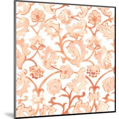 Bohemian Textile III-June Vess-Mounted Art Print