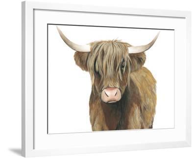 Highland Cattle II-Grace Popp-Framed Art Print