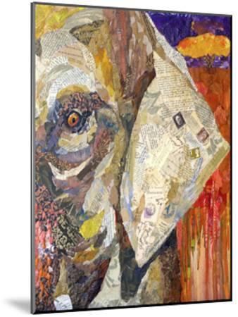 Africa on Collage I-Elizabeth St. Hilaire-Mounted Art Print