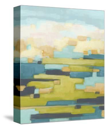 Pixel Horizon I-June Vess-Stretched Canvas Print